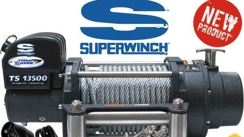 Zware Superwinch Tiger Shark lier