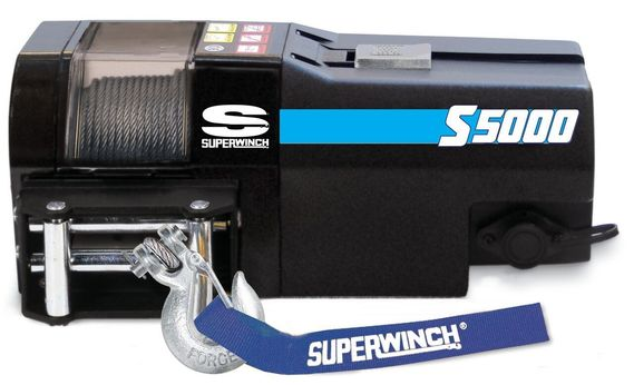 Superwinch 12V Elektrische Auto / BootLier